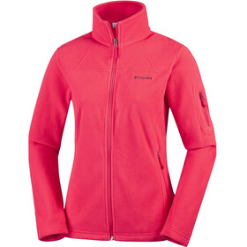 Columbia Fast Trek II Jacket Women red camellia